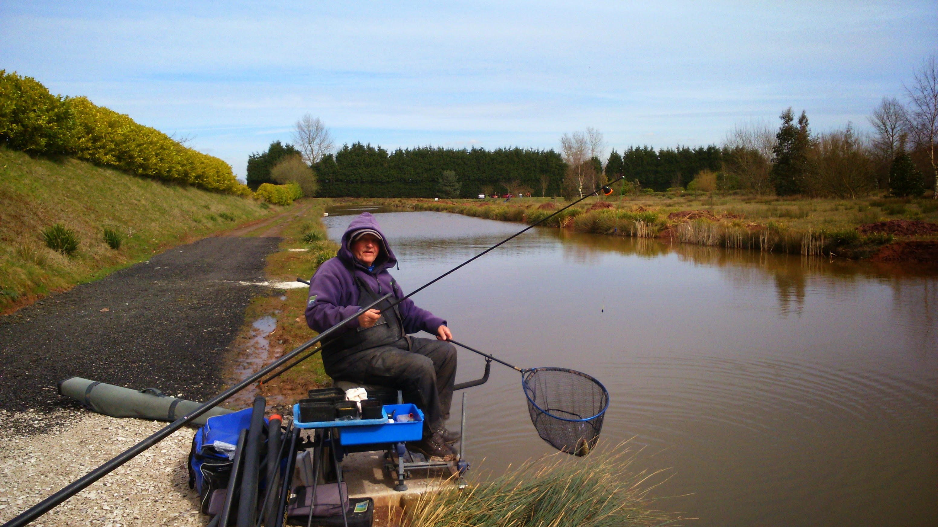 Day ticket fishing on the model, catches of up to fifty pound of carp in four hours