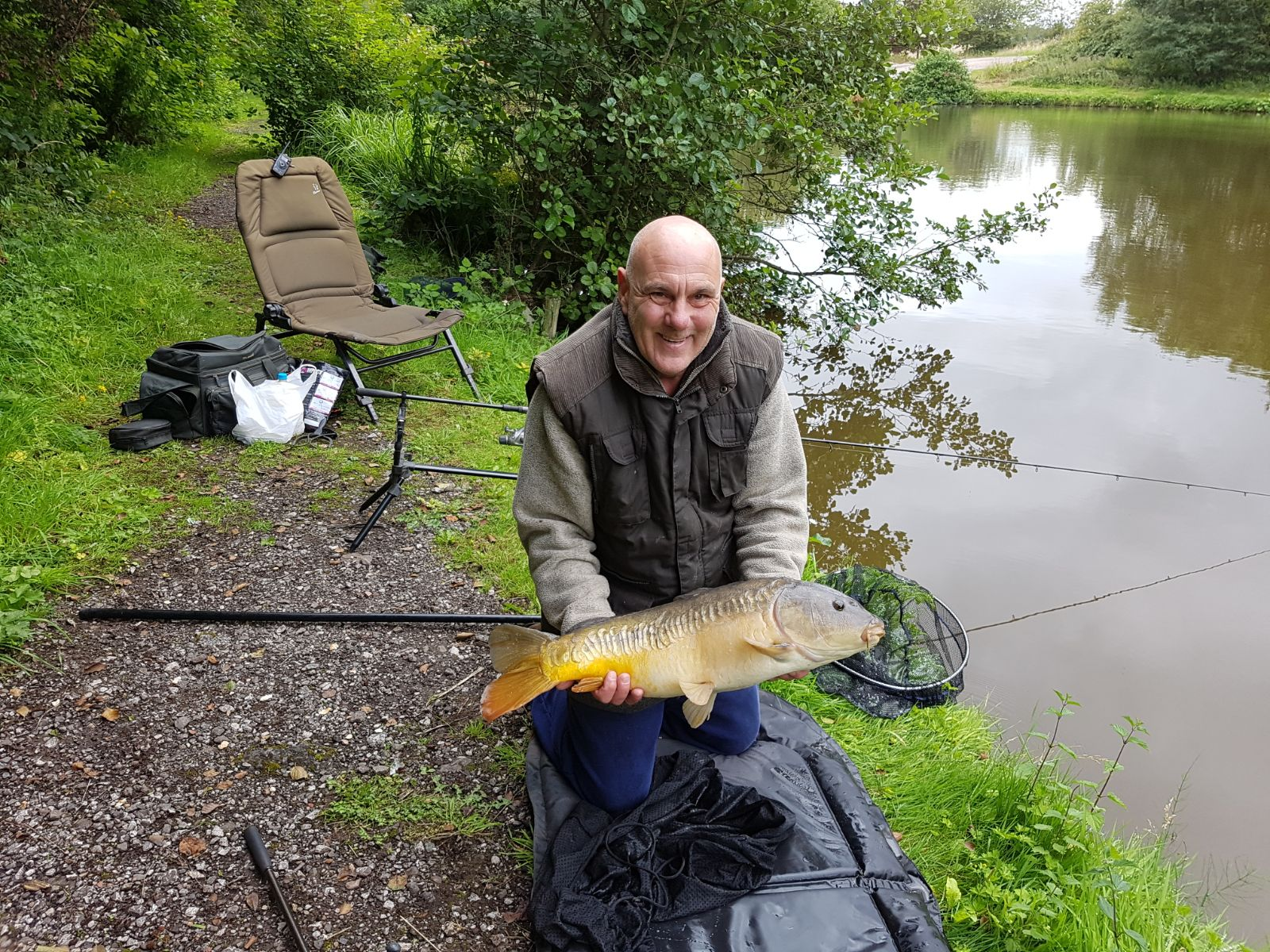 Mirror 14lb 2oz caught 12/08/17