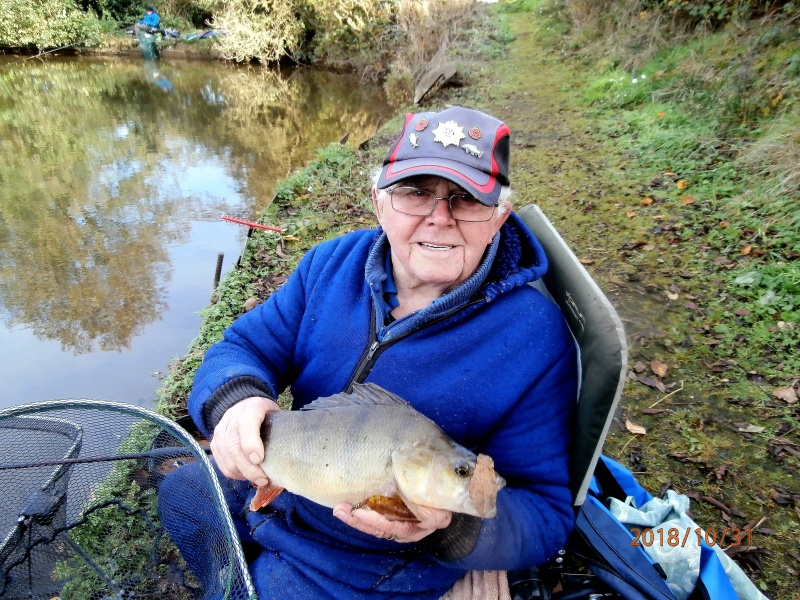 JOHN KING WITH LARGE PERCH CAUGHT 1/11/18